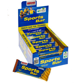 High5 SportBar Sports Nutrition Caramel 25 x 55g yellow/blue